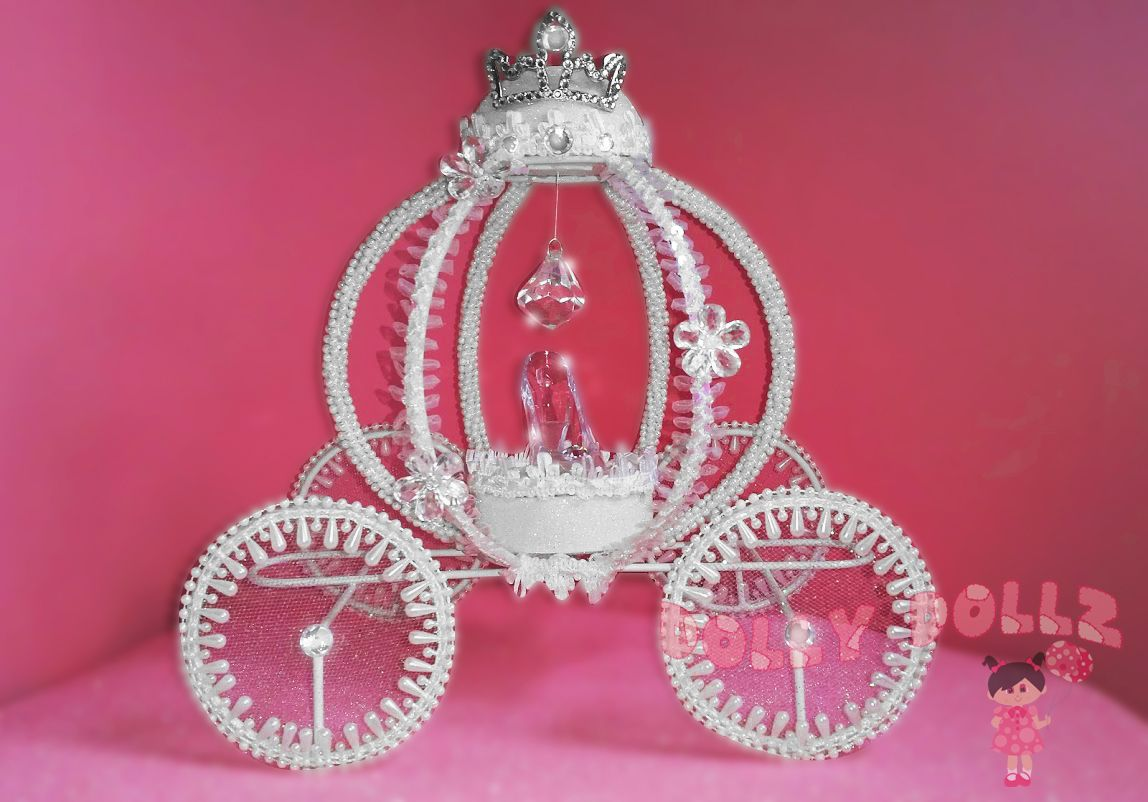 Medium White | Cinderella Carriage (Dolly Dollz) | Pinterest ...
