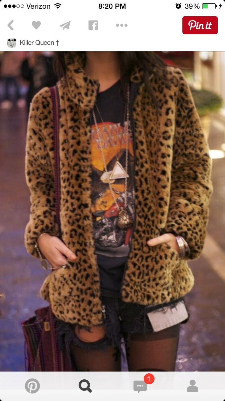 20 Leopard Printed Fur Coat Outfits picture