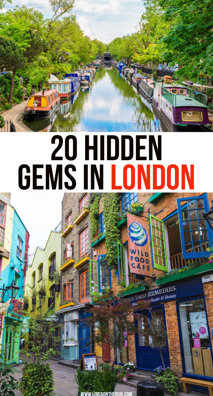 20 Hidden Gems In London Not To Miss| What to see in London that many tourists do not know about| Non-touristy things to visit in London| London packing list| London tips| London| England| Great Britain|United Kingdom #london #england #greatbritain #travel