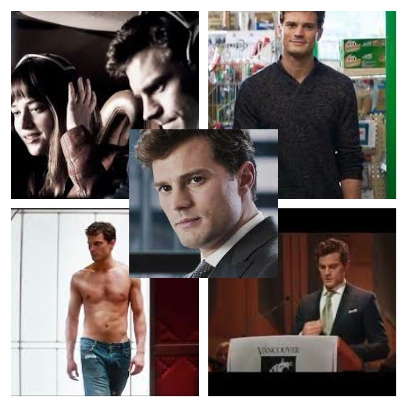 Oh I exercise control in all things Miss Steele.