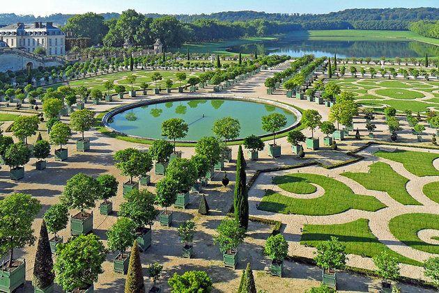 gardens of the chteau les jardins chteau de versailles france - Jardin Chateau De Versailles