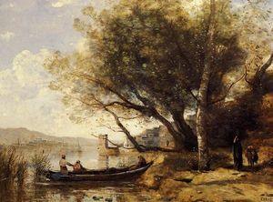 Smyrne-Bornabat - (Jean Baptiste Camille Corot)