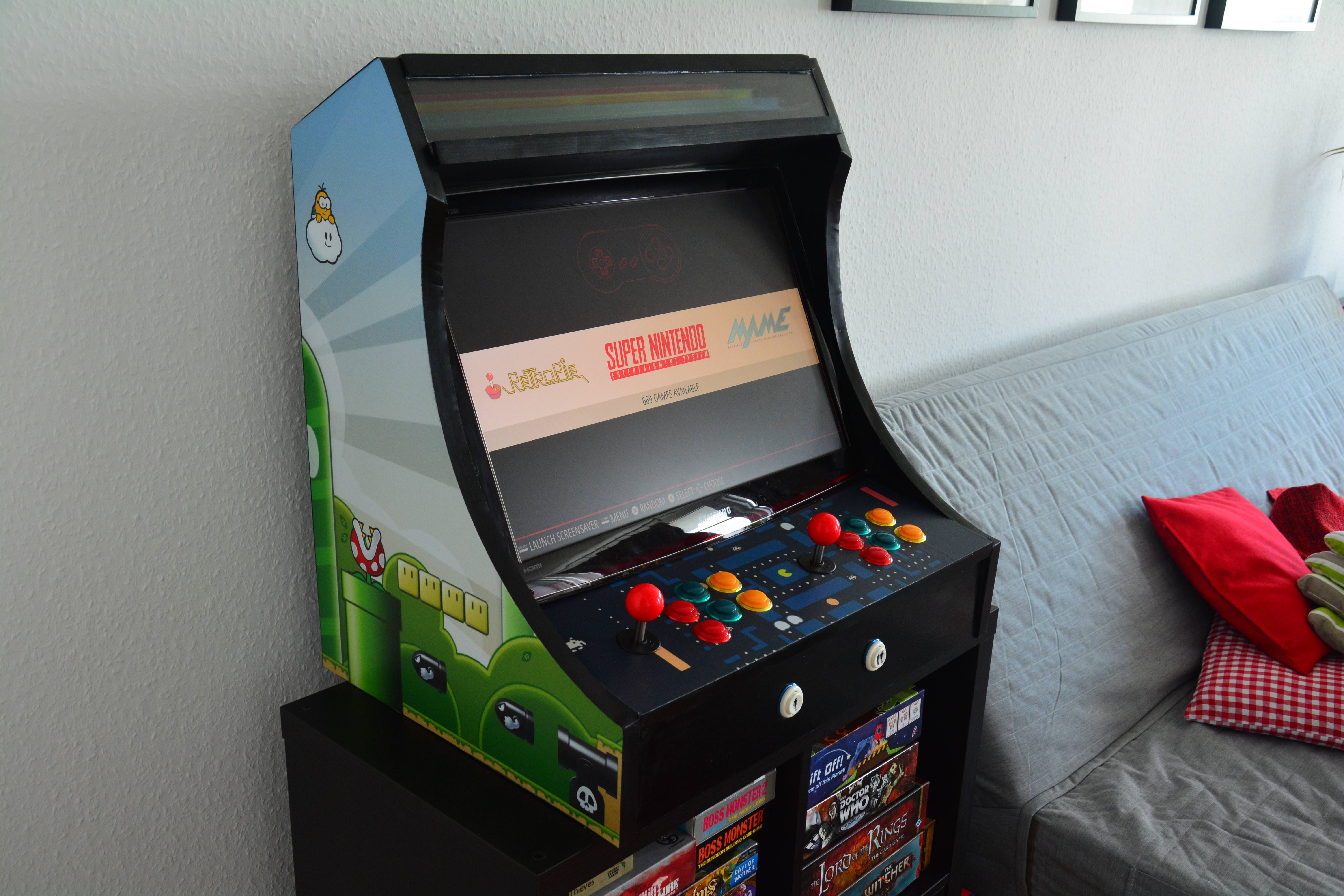 I finally built my own retropie arcade cabinet do it yourself i finally built my own retropie arcade cabinet solutioingenieria Image collections