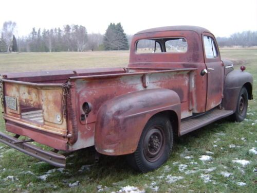 Image Result For 1952 Ford Pickup For Sale Craigslist 48 52 Fat