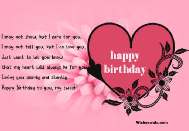 Sweet Happy Birthday Wishes for Girlfriend Birthday