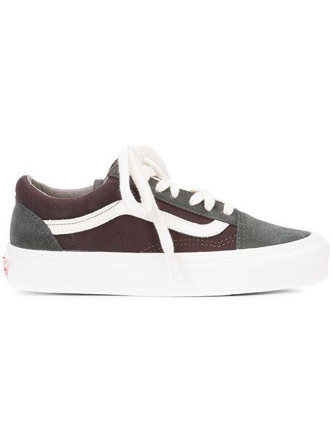 faf7079121816d VANS bicolour lace-up sneakers.  vans  shoes  flats