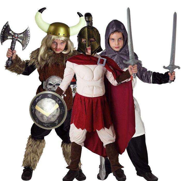 αποκριάτικες στολές για αγόρια - στολές Πολεμιστών και Ιπποτών