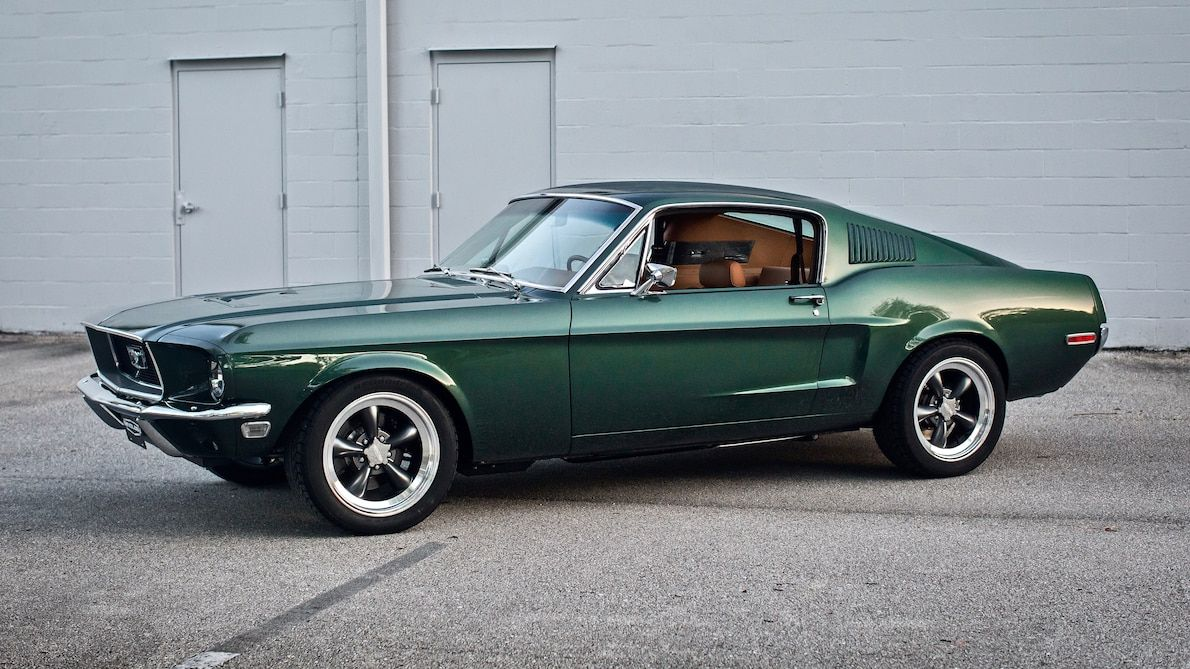 Revology S 1968 Ford Mustang Replica Gets A Ferrari Leather