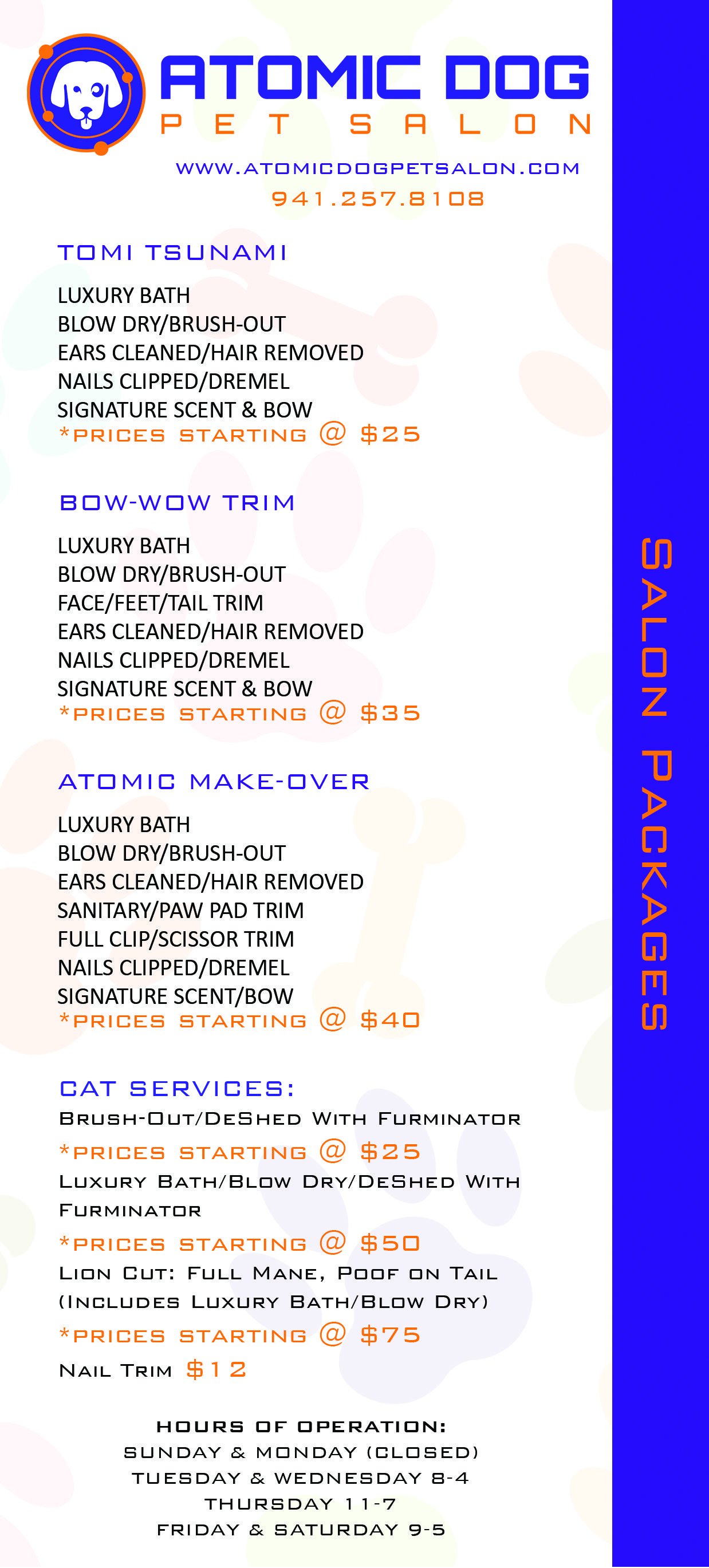 Salon Packages Dog Grooming Salons Dog Grooming Business Pet Grooming Business