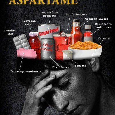 You know when Aspartame is in a product, it leaves a film sensation in the mouth.