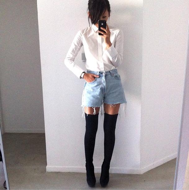 Puedes crear un outfit asombroso con lo que ya tienes en el closet, y mucha creatividad.