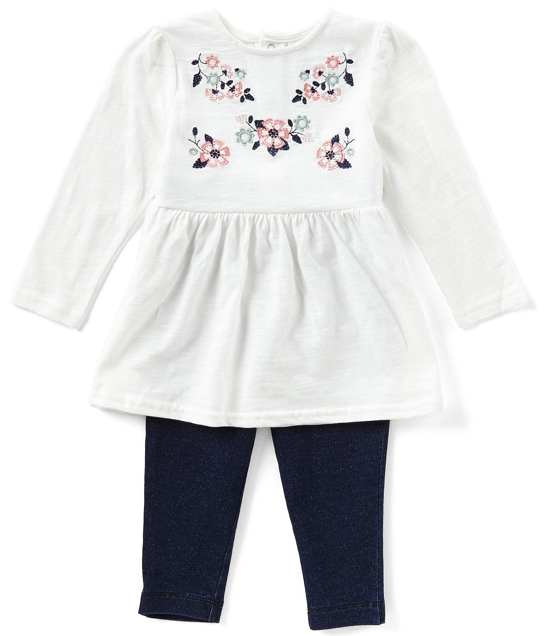 Shop for Starting Out Baby Girls 12 24 Months Floral Embroidered Top