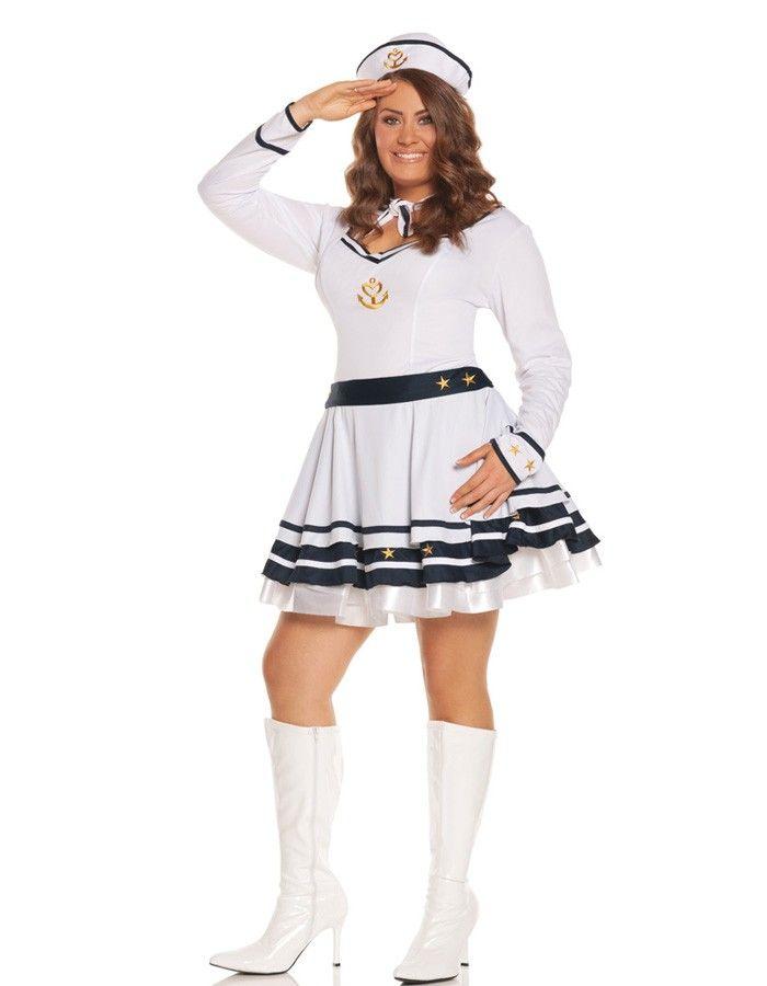 Elegant Moments Anchors Away Costume Plus Size 4499 Direct 2 U
