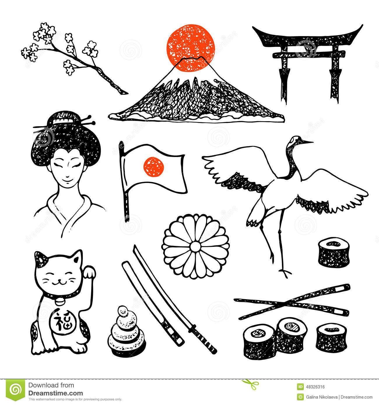 Eb0c0d44334e90e94f7d59eba5c77aad Jpg 1300 1390 Dibujos Japoneses Arte Japones Japon