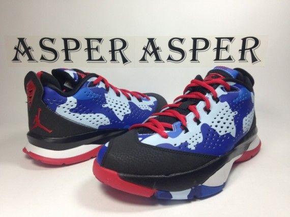 Jordan Cp3vii Gs Clippers Camo Fashion Jordan Cp3 Jordans