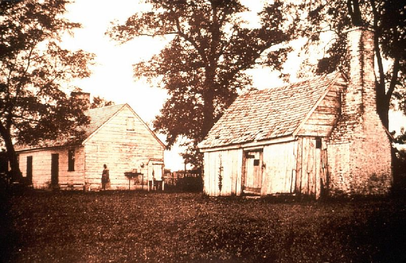 Slavery at St. Mary's Manor Colonial house, Tenants, St