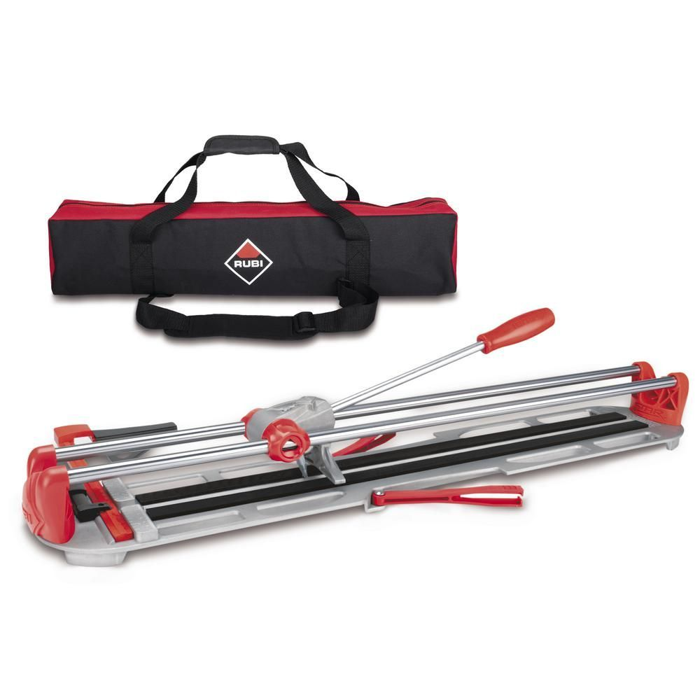 Rubi 20 In Star Max Tile Cutter With Bag 13937 Tile Cutter Tiles Bags