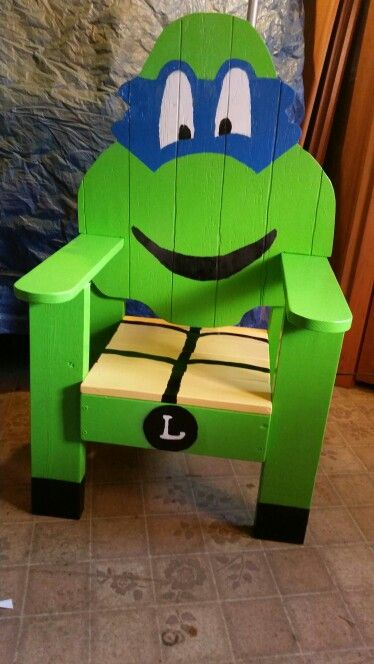 Ninja Turtles Chair Patio Chairs Costco Mutant Wood By S Hall My Wishlist In 2019