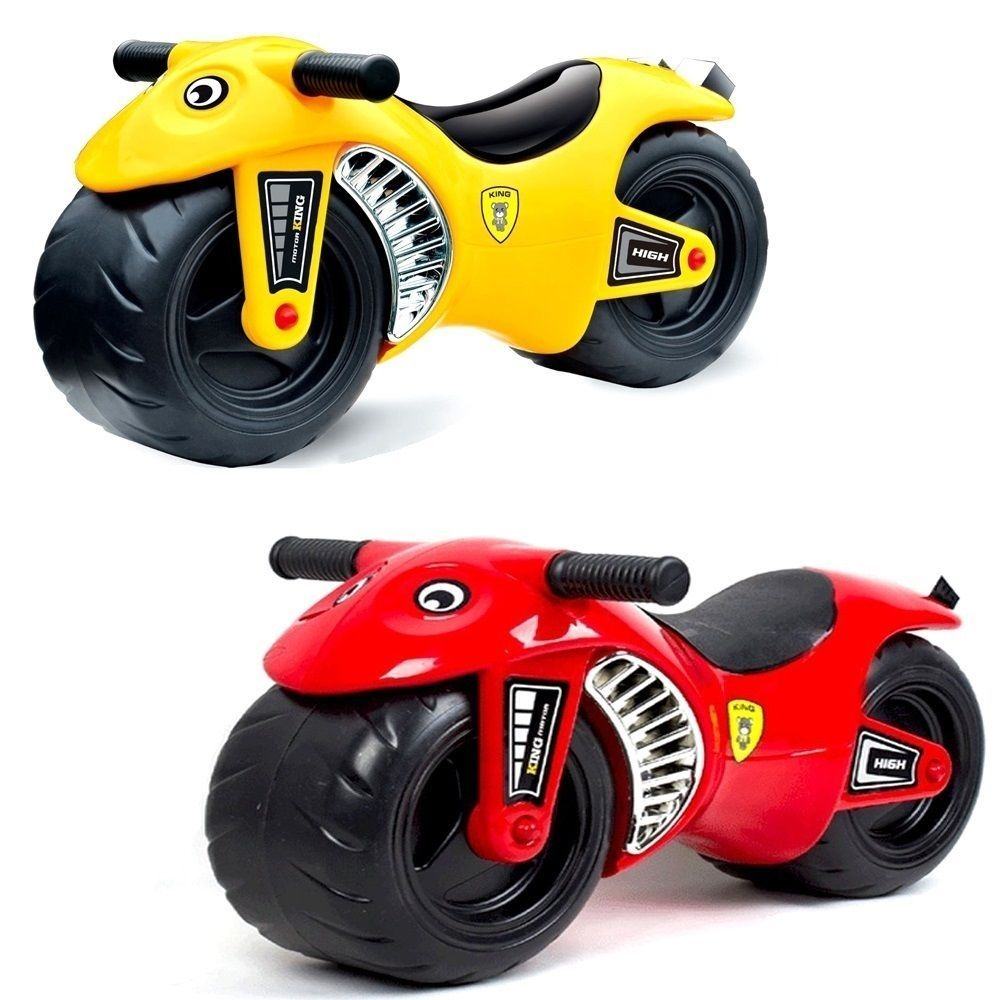balance bike toddler kids push along ride on motorbike motorcycle car walker