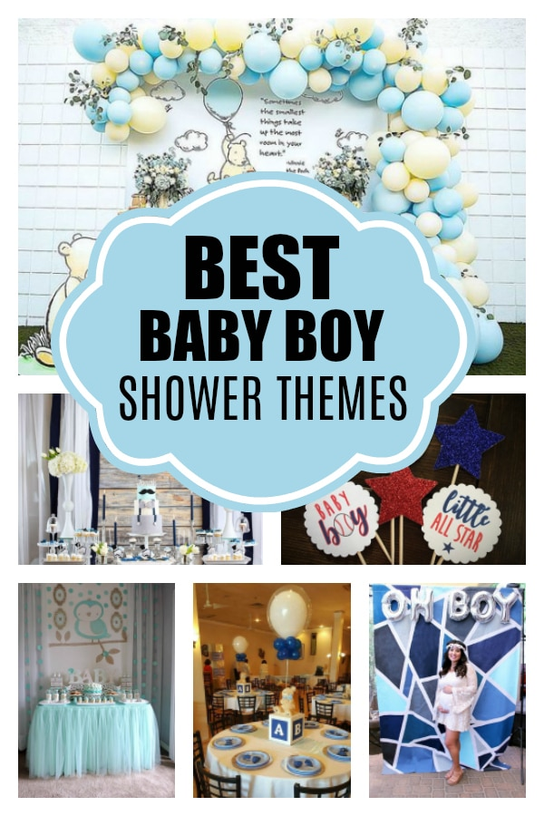 Awesome Boy Baby Shower Themes Boy Baby Shower Themes Boy
