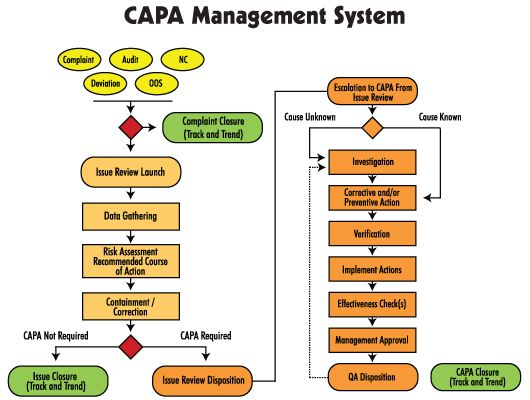 Mastercontrol Corrective Actions Capa Software Systems