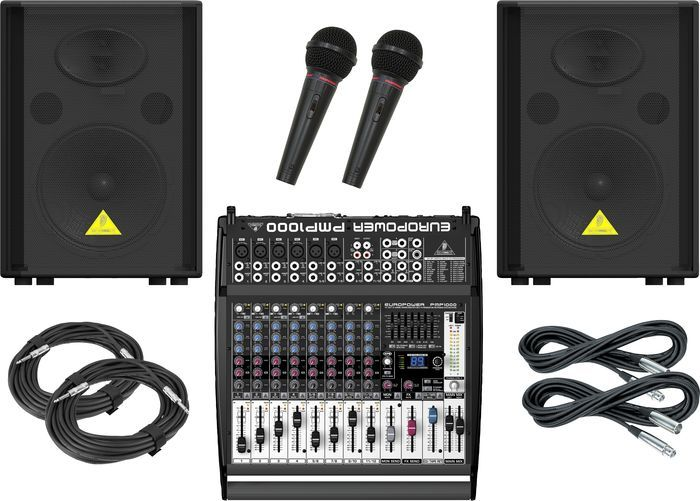 Special Offers Available Click Image Above: Behringer Pmp1000 / Vs1220 Pa Package
