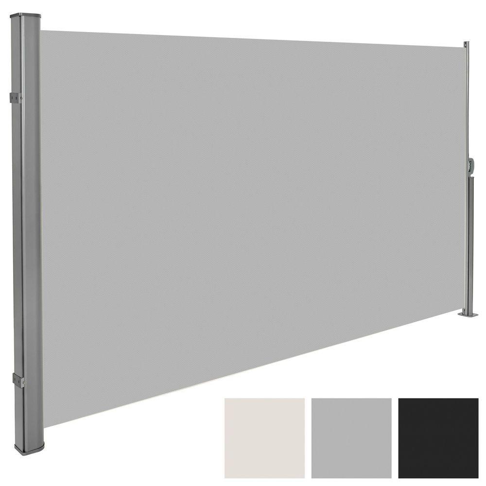 Auvent store latéral brise-vue abri soleil aluminium rétractable ...
