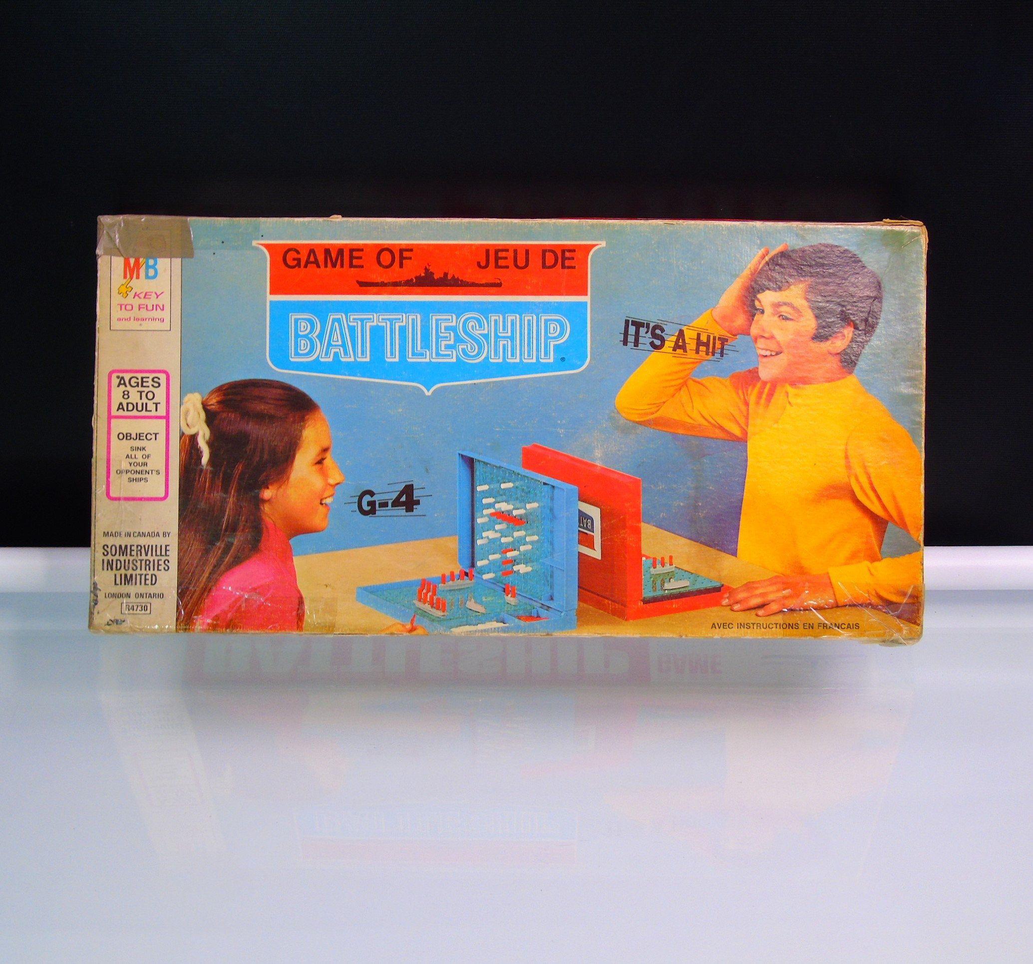 Vintage 1971 Milton Bradley Battleship Board Game 4730