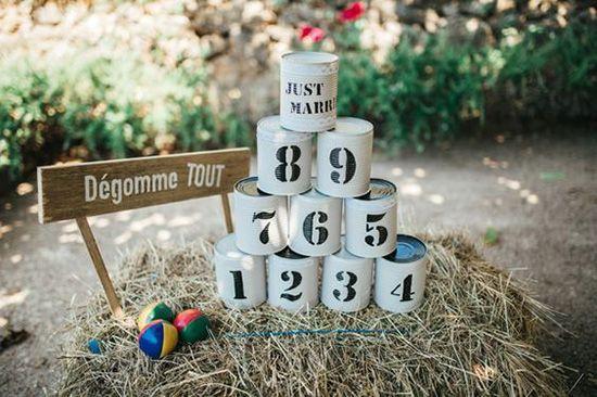 8 jeux d 39 adulte pour un mariage mariage pinterest. Black Bedroom Furniture Sets. Home Design Ideas