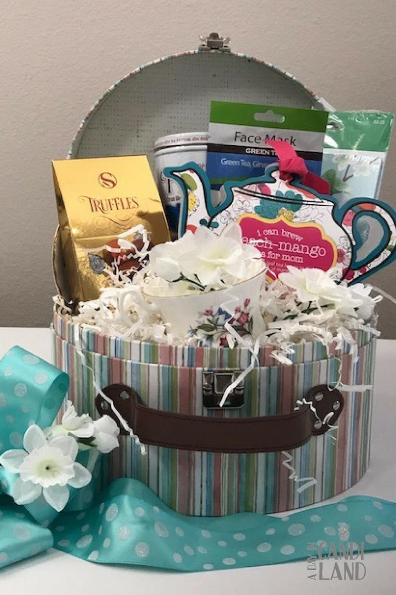 diy tea gift basket | tricky tray basket ideas | pinterest | gift