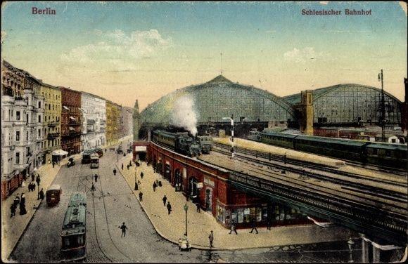 1917 Berlin Schlesischer Bahnhof