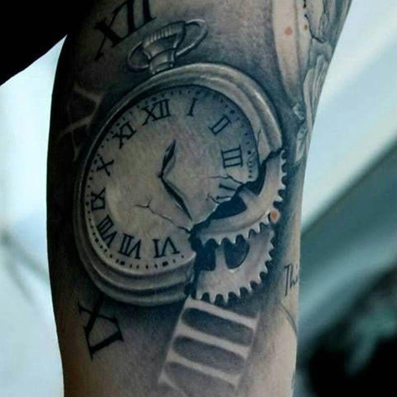 Time Keeper Tattoos Pinterest Tatouage Tatouage Montre And