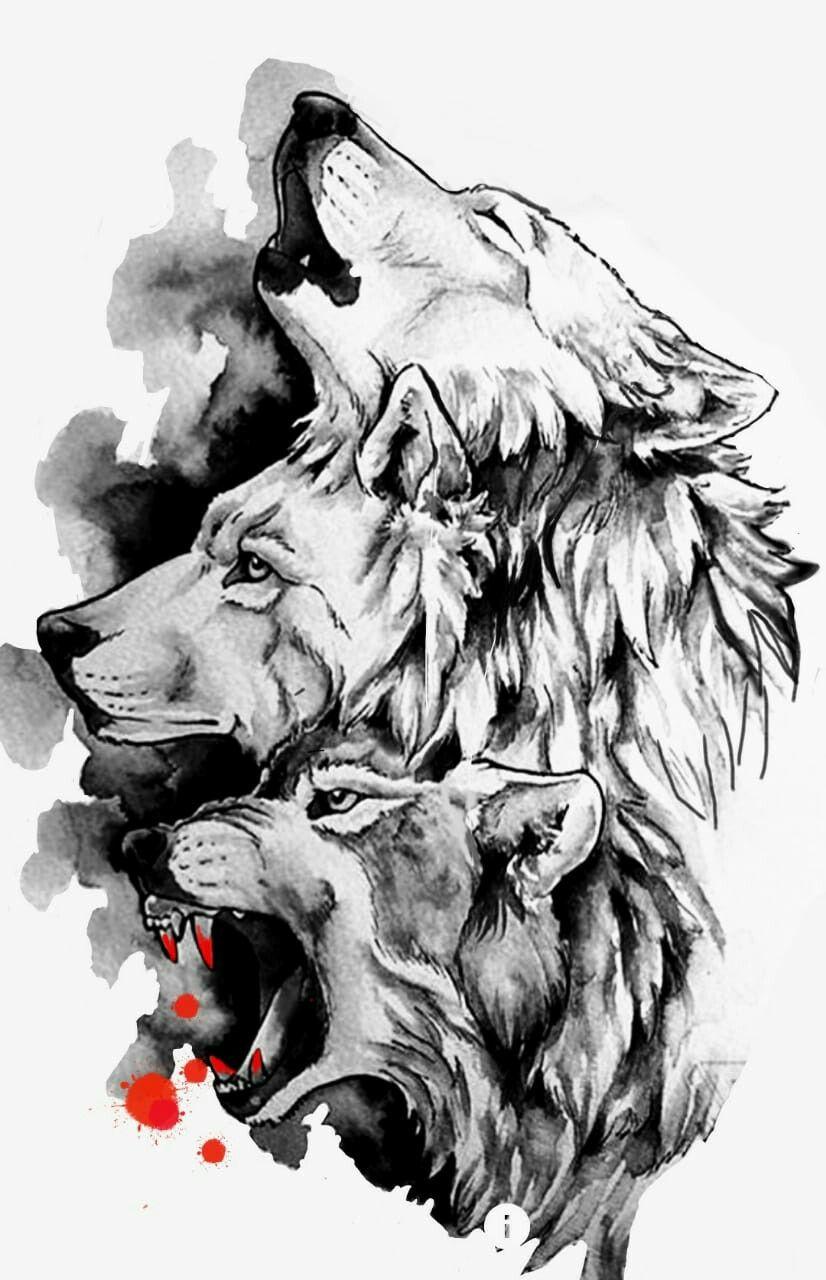 Pin By Jose Encarnacion On Dibujos A Lapiz Wolf Tattoos Wolf