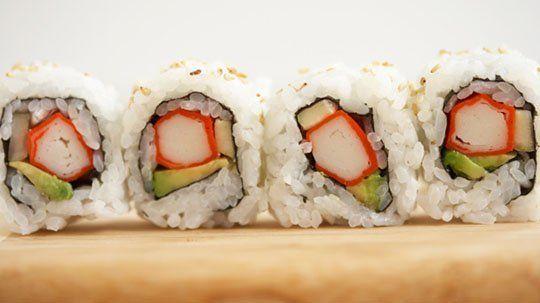 Появление суши и роллов