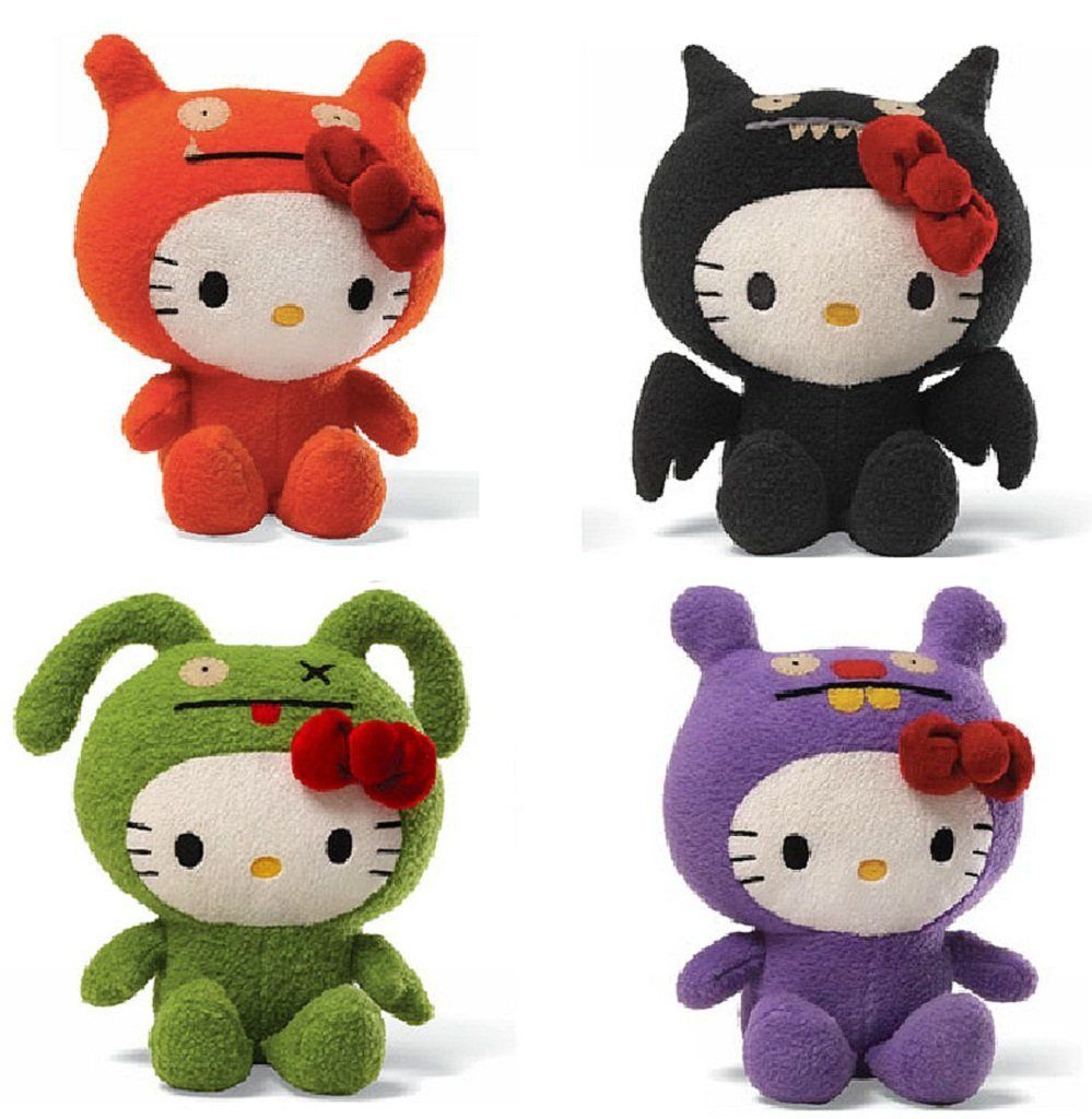 Quips N Quotes Uglydolls Wage Ice Bat Ox And Trunko Get The Hello Kitty