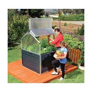 Tepro 701809hochbeet Gewachshaus Amazon De Garten Greenhouses