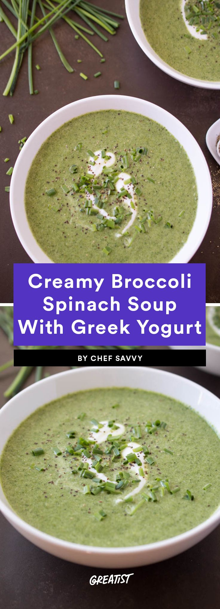 11 Ways to Use Up That Bag of Spinach Before It Goes Bad #spinachsoup