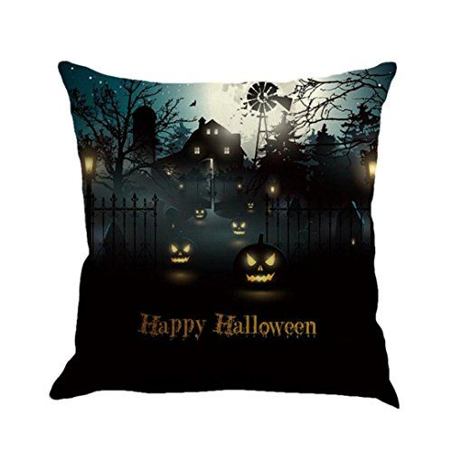 Gotd Vintage Halloween Decorations Throw Pillow Covers Case Cushion