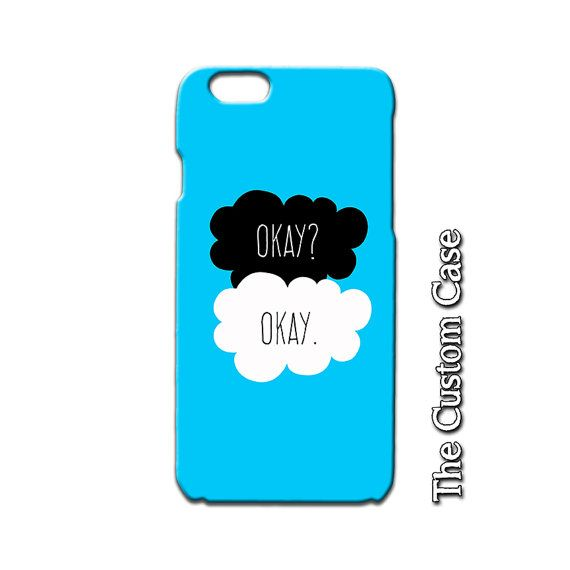 san francisco 1ff21 c8751 The Fault in Our Stars Phone Case, Okay Okay Phone Case, Teen Phone ...