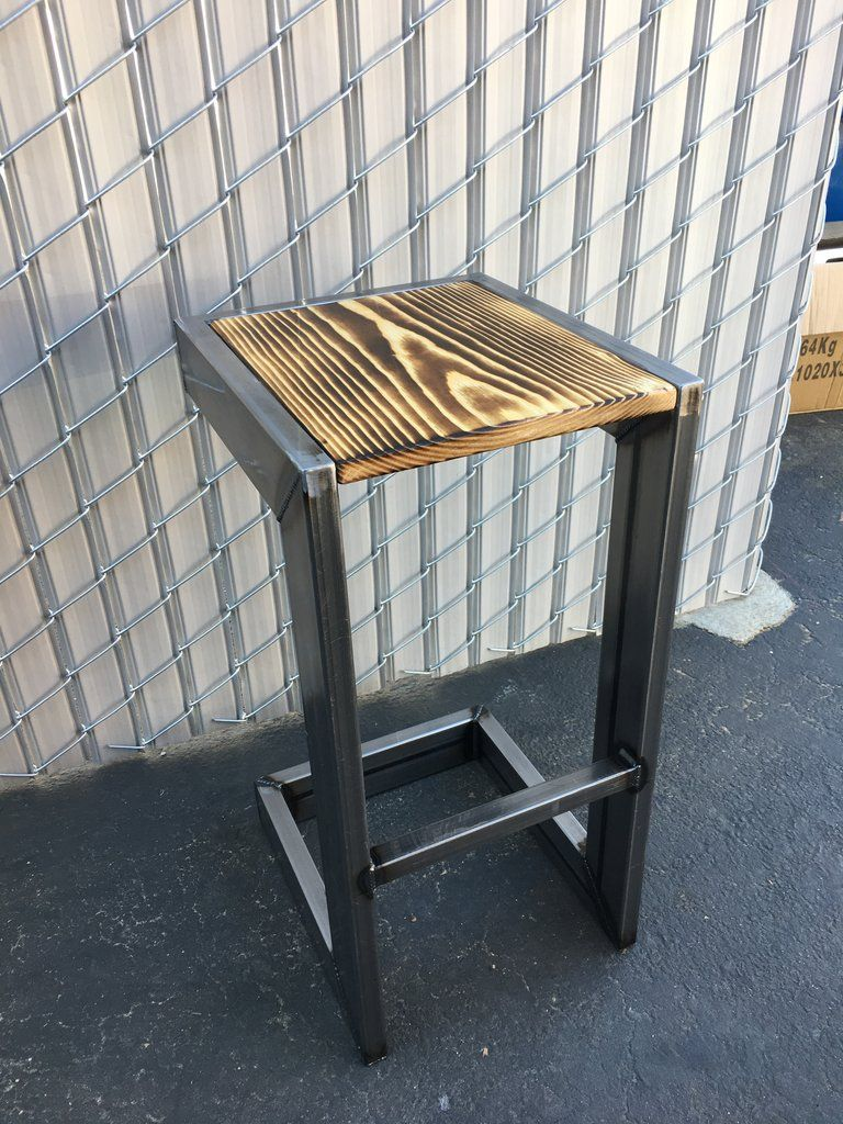 Modern Industrial Bar Stool Industrial Bar Stools Vintage Industrial Furniture Industrial Furniture