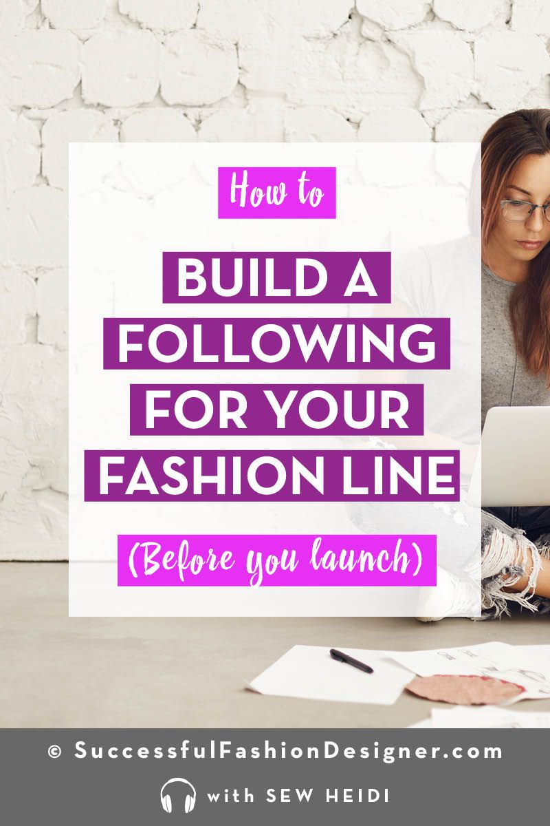 Starting A Clothing Brand Why And How To Build Your Audience First Small Fashion Brands Starting A Clothing Business Fashion Design Jobs