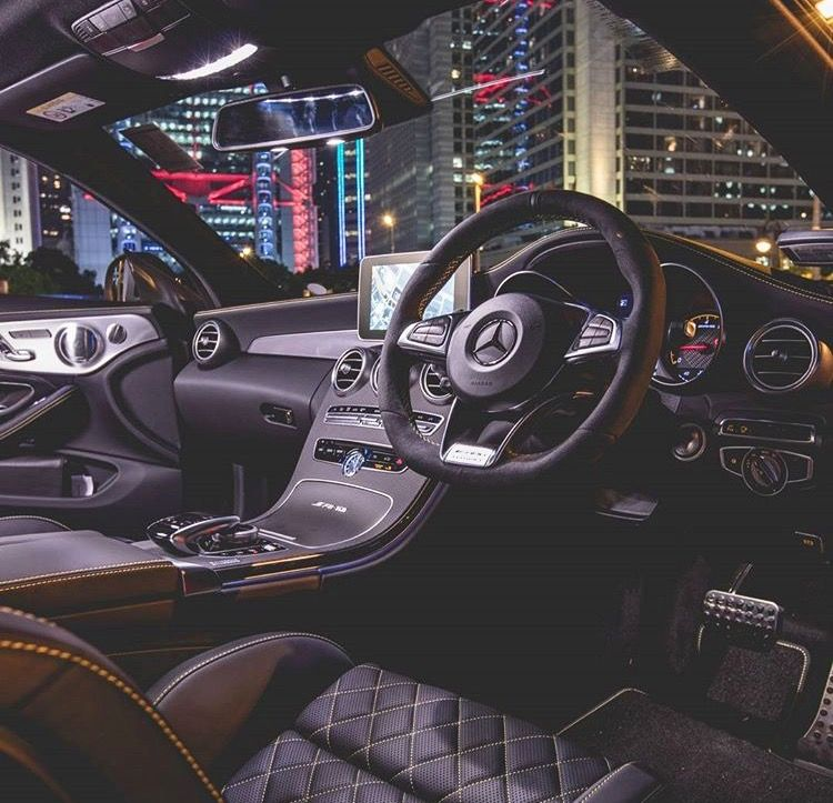 Interior Mercedes C63 Amg Coupe Edition 1 With Images New