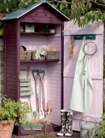 Idea For Donna S Shed Paint It Pink