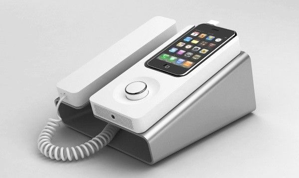 Desk Phone Dock: Charges and syncs your iPhone and functions as a speakerphone. Brand…