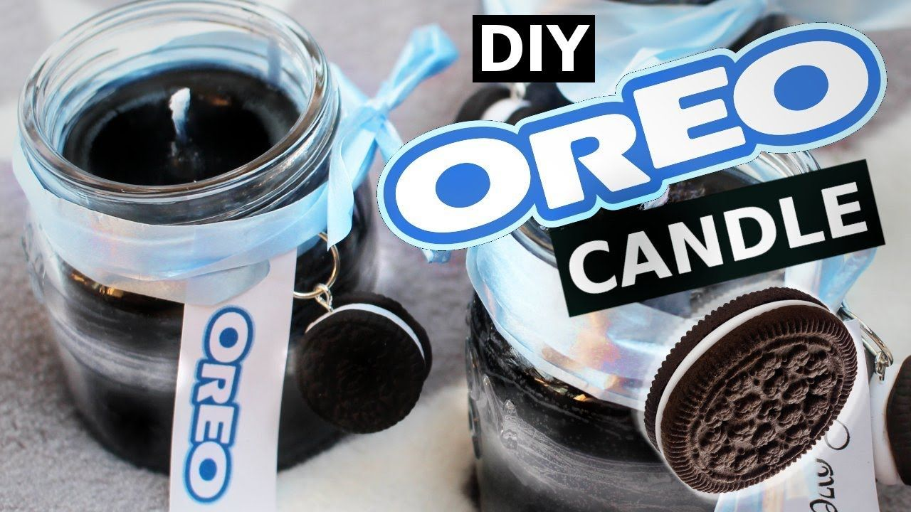 DIY Oreo Candles! How to make a delicious SCENTED oreo