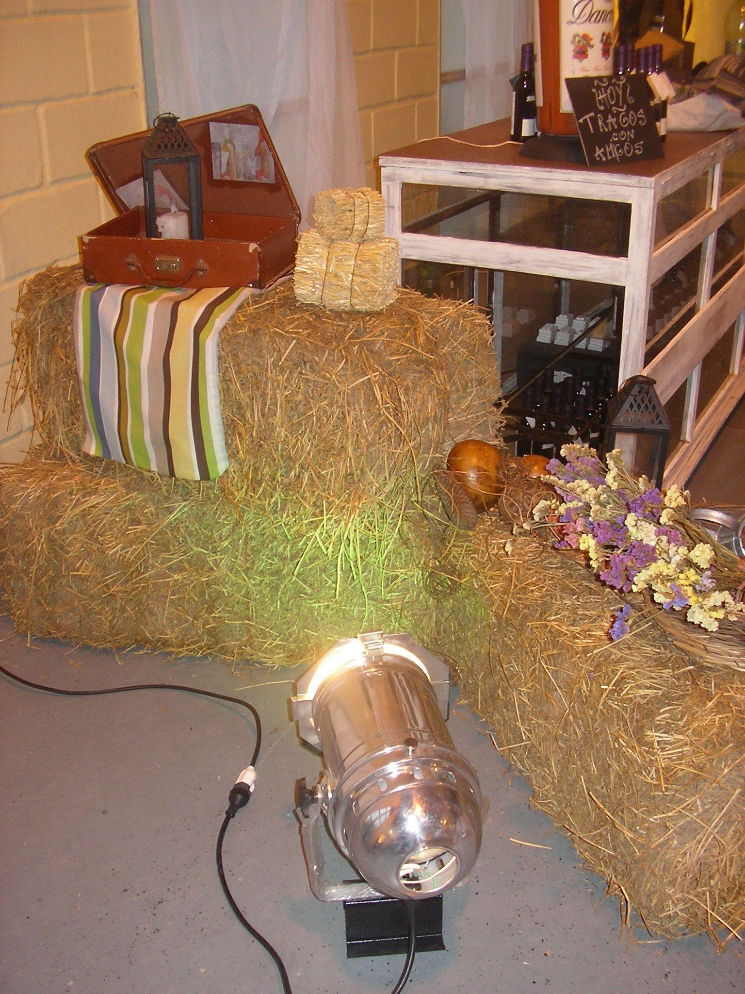 espacio ambientado en evento campestre Ladecora creando espacios...