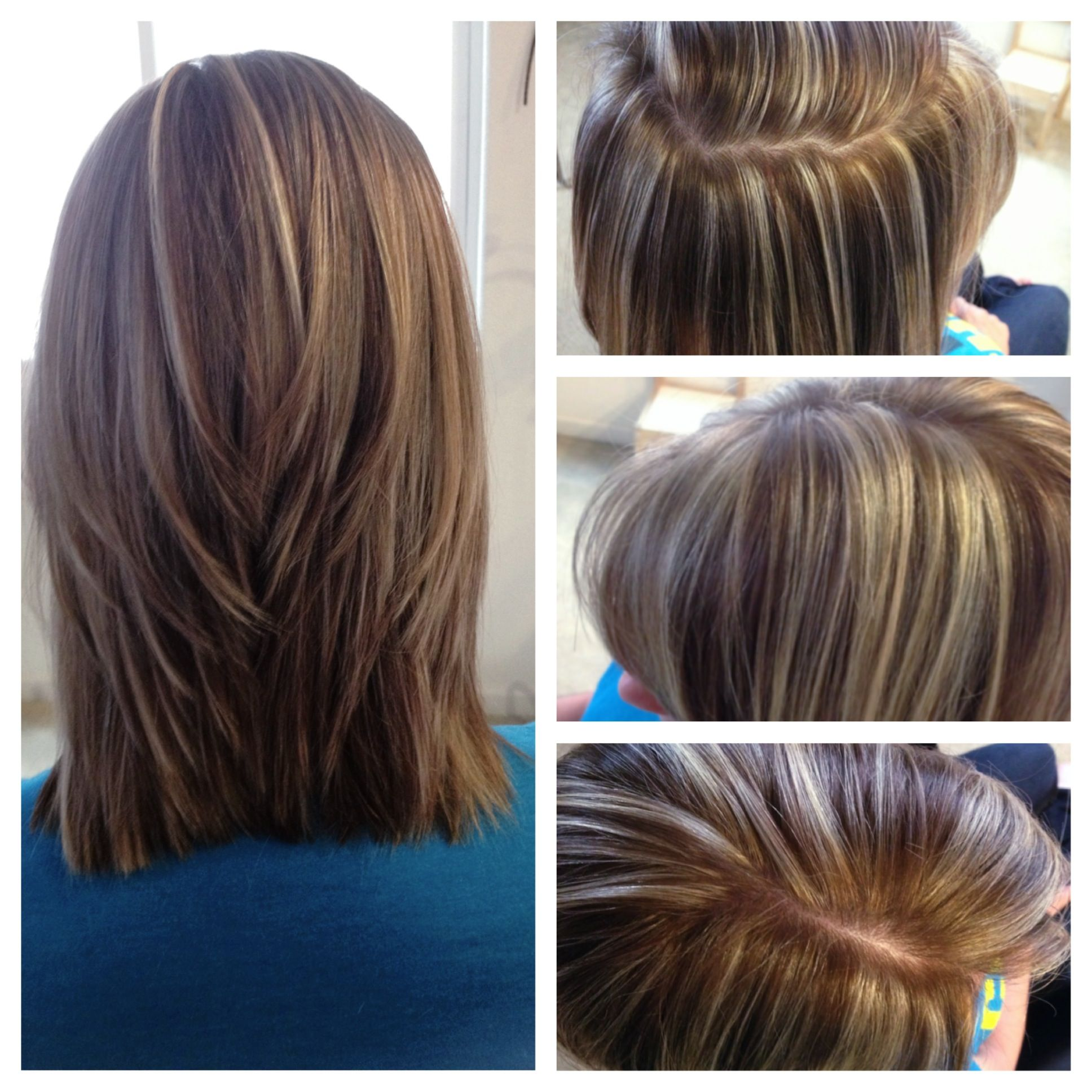High Contrast Hair Color Highlights And Low Lites