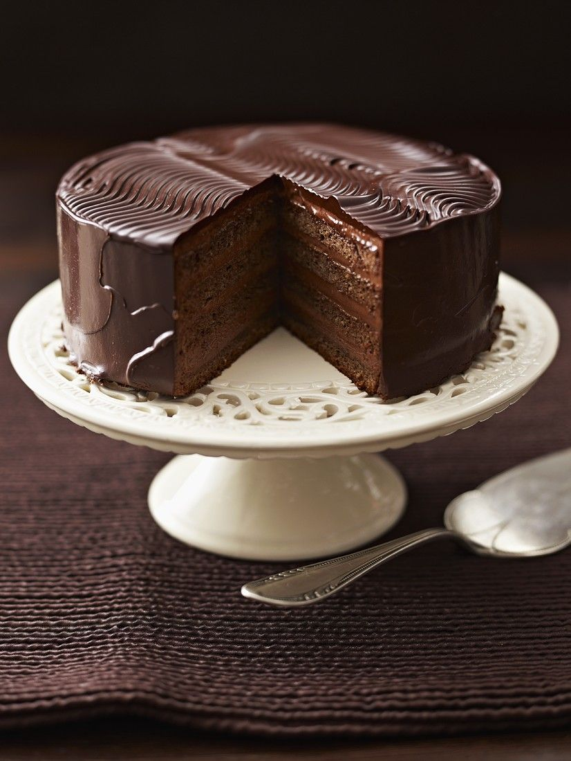 Schokoladentorte  Rezept in 2019  Rezepte  Schokoladen