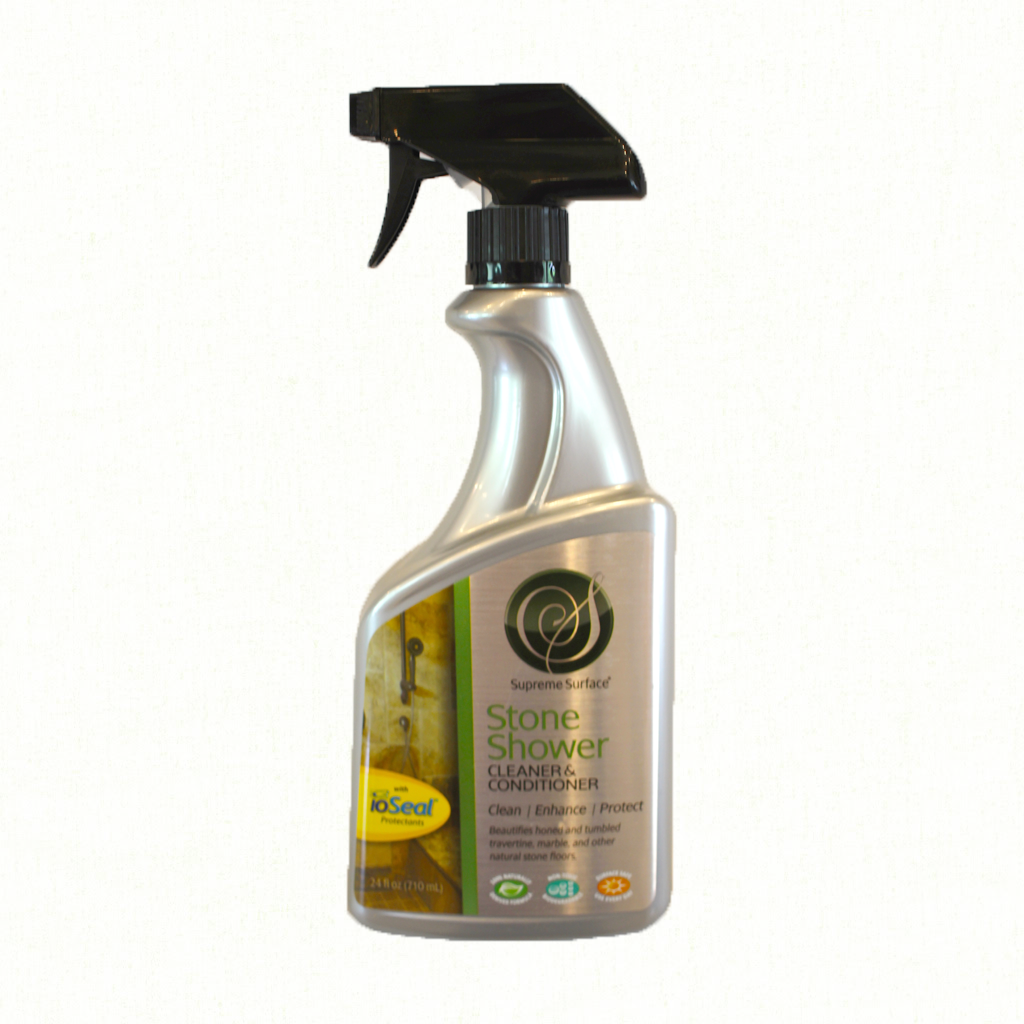 Stone Shower Cleaner Conditioning Treatment With Ioseal