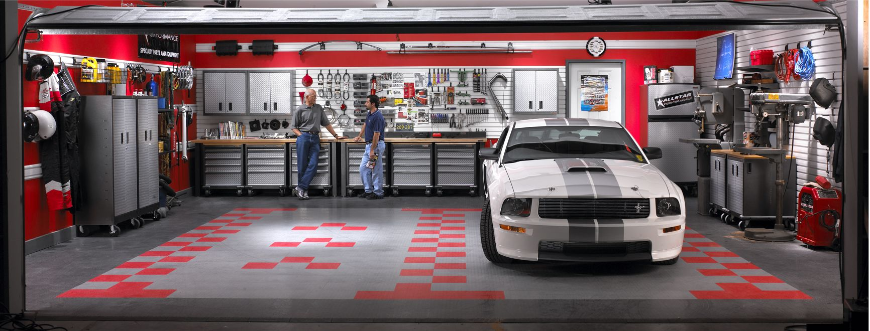 Dream garage garage cabinets garage floor tiles - By Carrying The Full Line Of Gladiator Garageworks Abt Makes It Easy To Find Exactly What You Need To Organize And Utilize Space In Your Garage